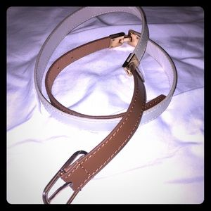 Cotton On color block Belt with Gold Hardware